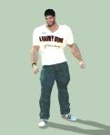 Bruce in HairyHunk shirt