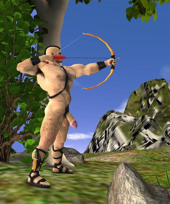 Hylas Shooting a Bow