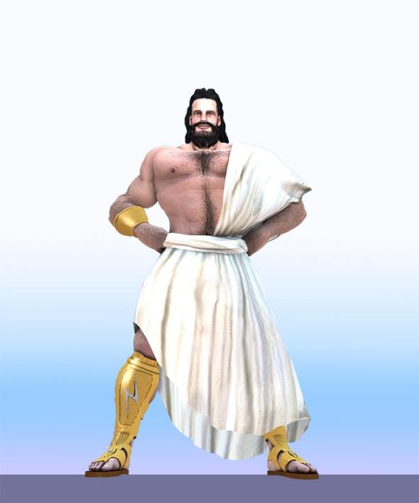 Zeus by model Bruce