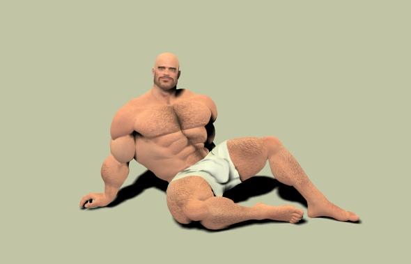 Chuck Sexy Pose 1