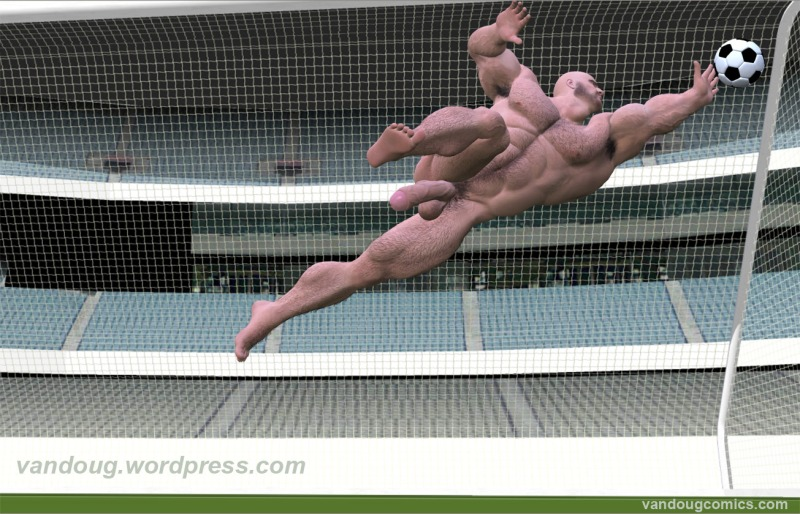 Soccer Goalie (nude)